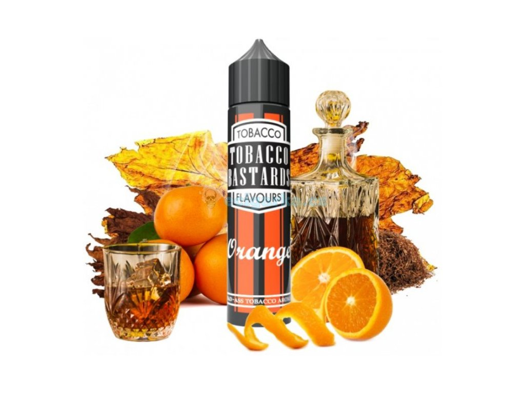 prichut flavormonks tobacco bastards shake and vape 10ml orange tobacco