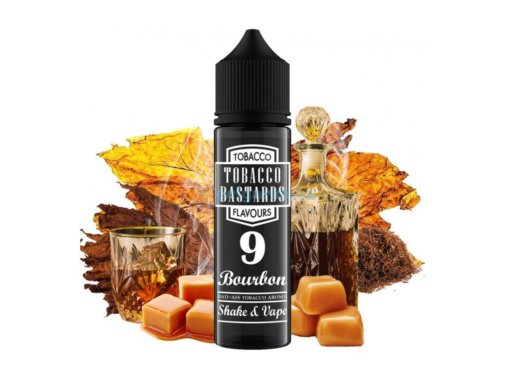 prichut flavormonks tobacco bastards shake and vape 12ml no09 bourbon