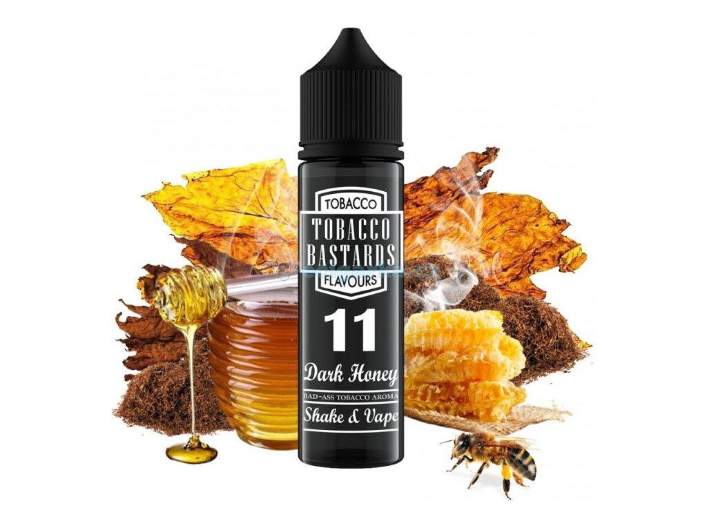 prichut flavormonks tobacco bastards shake and vape 12ml no11 dark honey