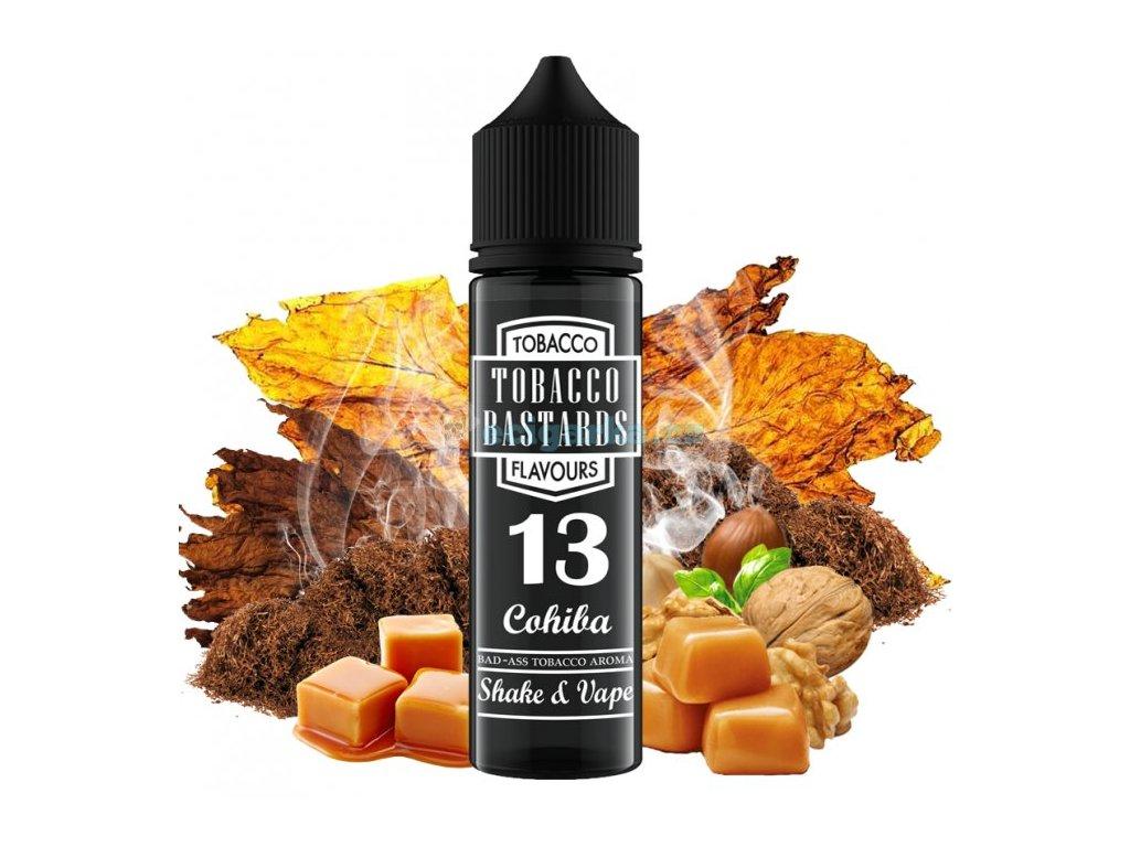 prichut flavormonks tobacco bastards shake and vape 12ml no13 cohiba