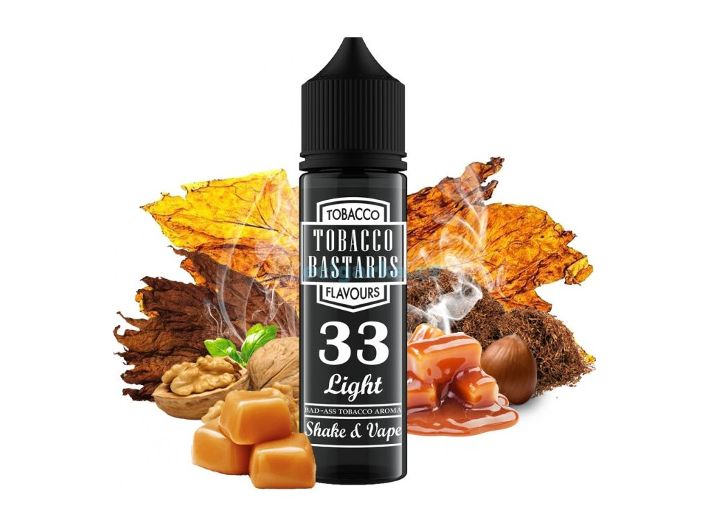 prichut flavormonks tobacco bastards shake and vape 12ml no33 light tobacco