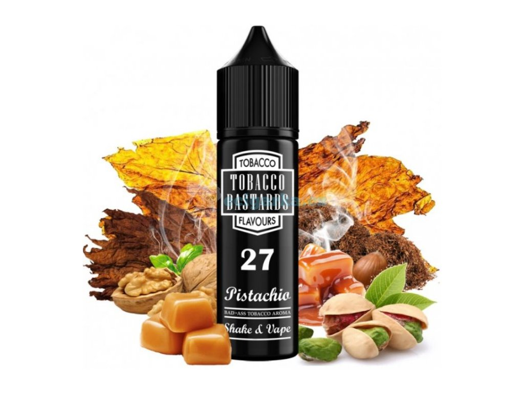 prichut flavormonks tobacco bastards shake and vape 12ml no27 pistachio tobacco