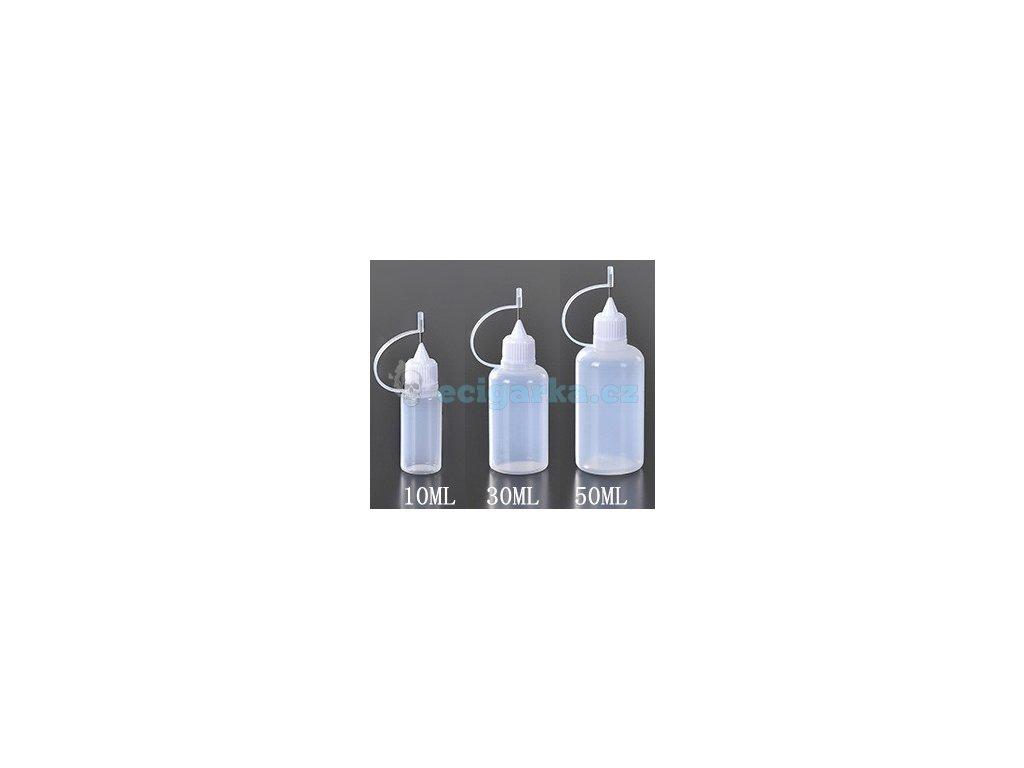 lahvička s jehlou 10,30,50ml