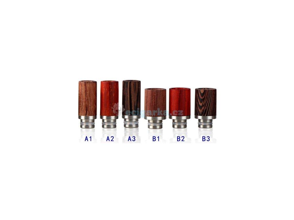 Drip tip 510 dřevo