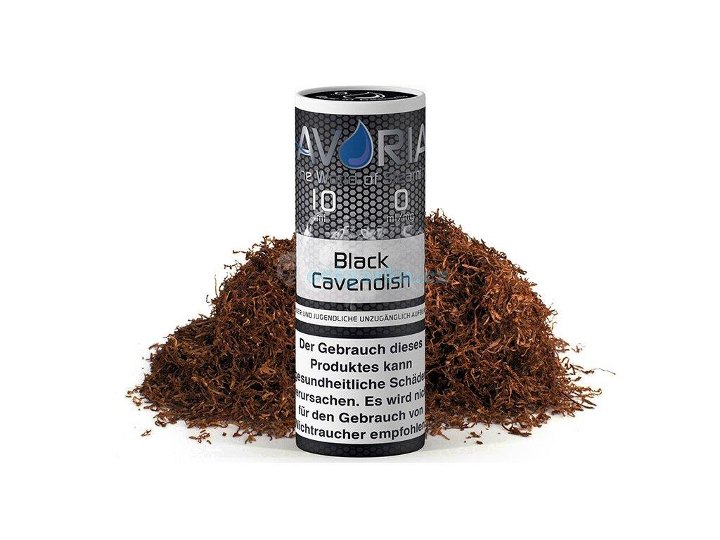 avoria liquid black cavendish