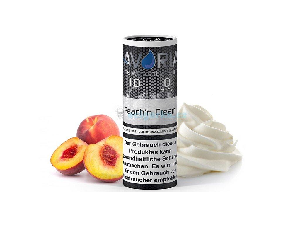 avoria liquid peach n creame