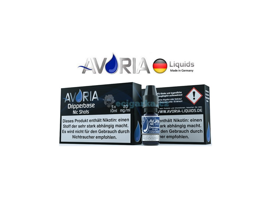 Avoria NIC SHOTS dripper