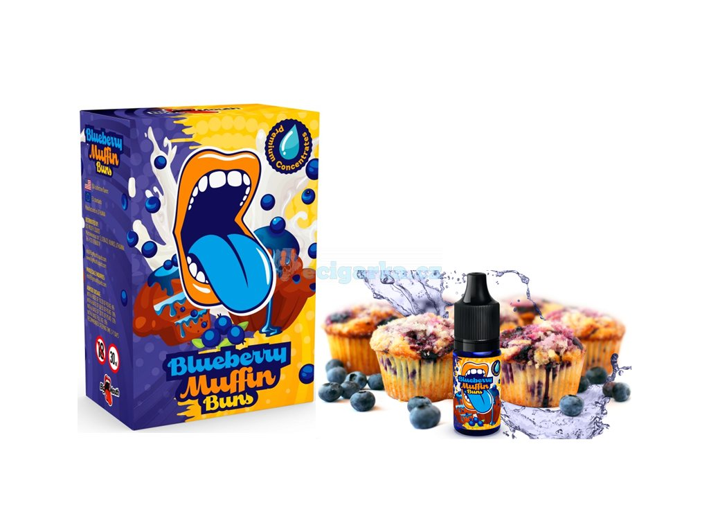 BM blueberry mufin