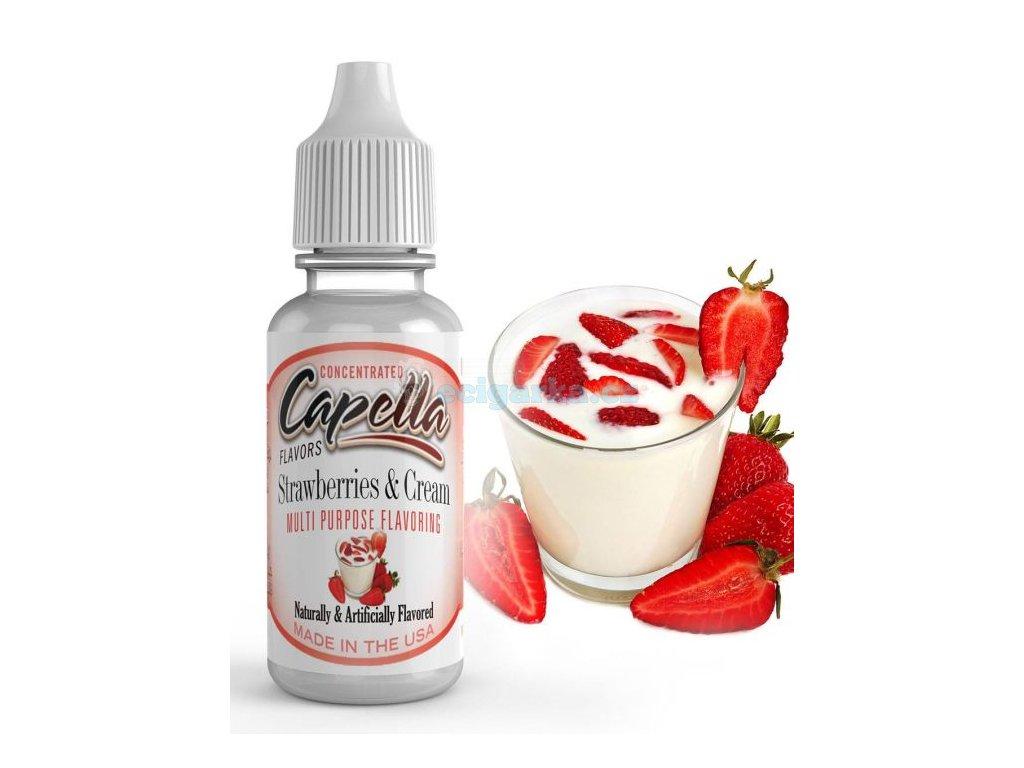 Capella strawberry cream