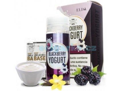 elda blackberry yogurt elda 100ml tpd crop