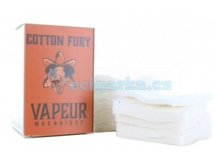 cotton fury pad vapeur meanique