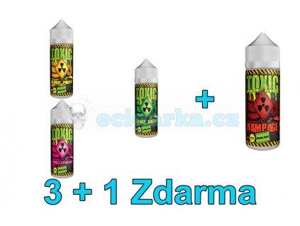 Akce liquidy 3+1 Toxic