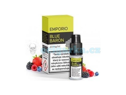 6093 emporio salt liquid 10ml blue baron