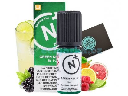 green kelly tjuice with nicotine salts