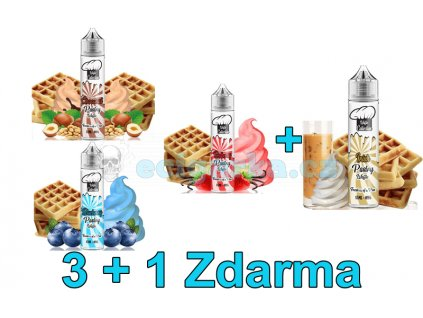 Akce liquidy 3+1 Waffle Collection