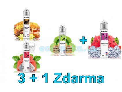 Základ 3+1 Shake and Vape Element