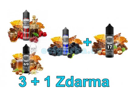 Základ 3+1Shake and Vape Flavormonks