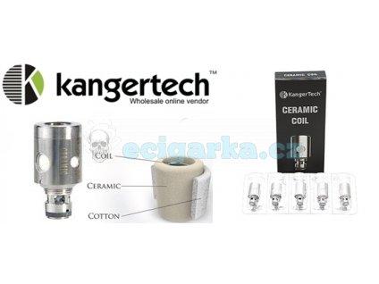 hlavičky kanger SSOCC Ceramic coil