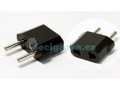 adapter redukce do zasuvky 230v z usa na eu zastrcku pro us pristroje do eu zasuvky i21806