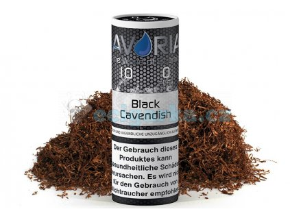 avoria liquid black cavendish