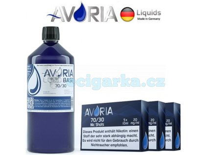 Avoria 1000ml 3070 3mg