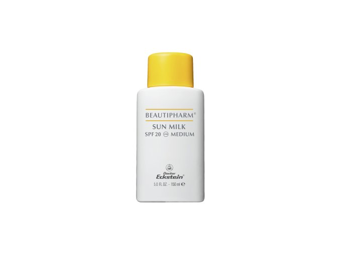 Beautipharm Sun Milk SPF 20 Medium 150ml