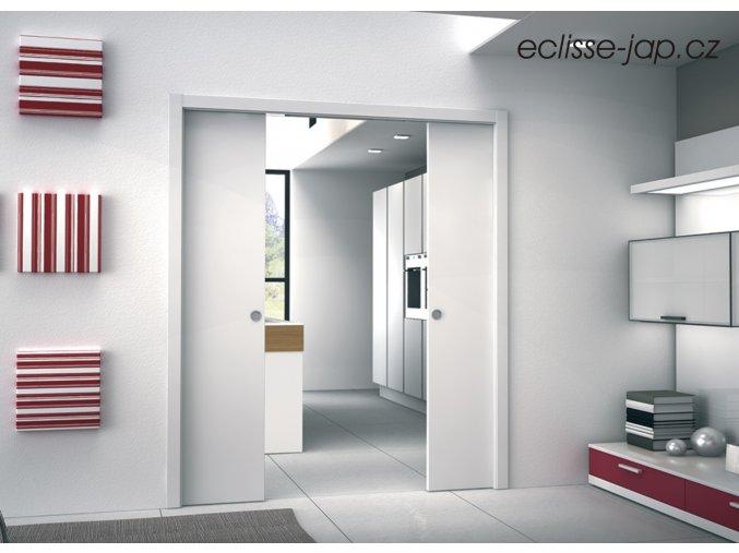 Stavební pouzdro ECLISSE Dvoukřídlé 600+600/1970mm do SDK