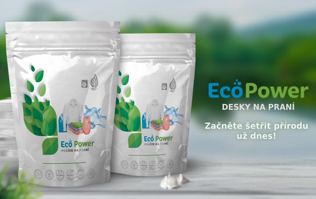 Eco power Prací prášky