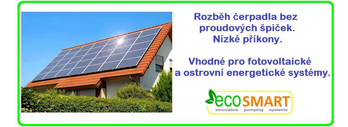 EcoSmart vodárny vhodné pro fotovoltaiku