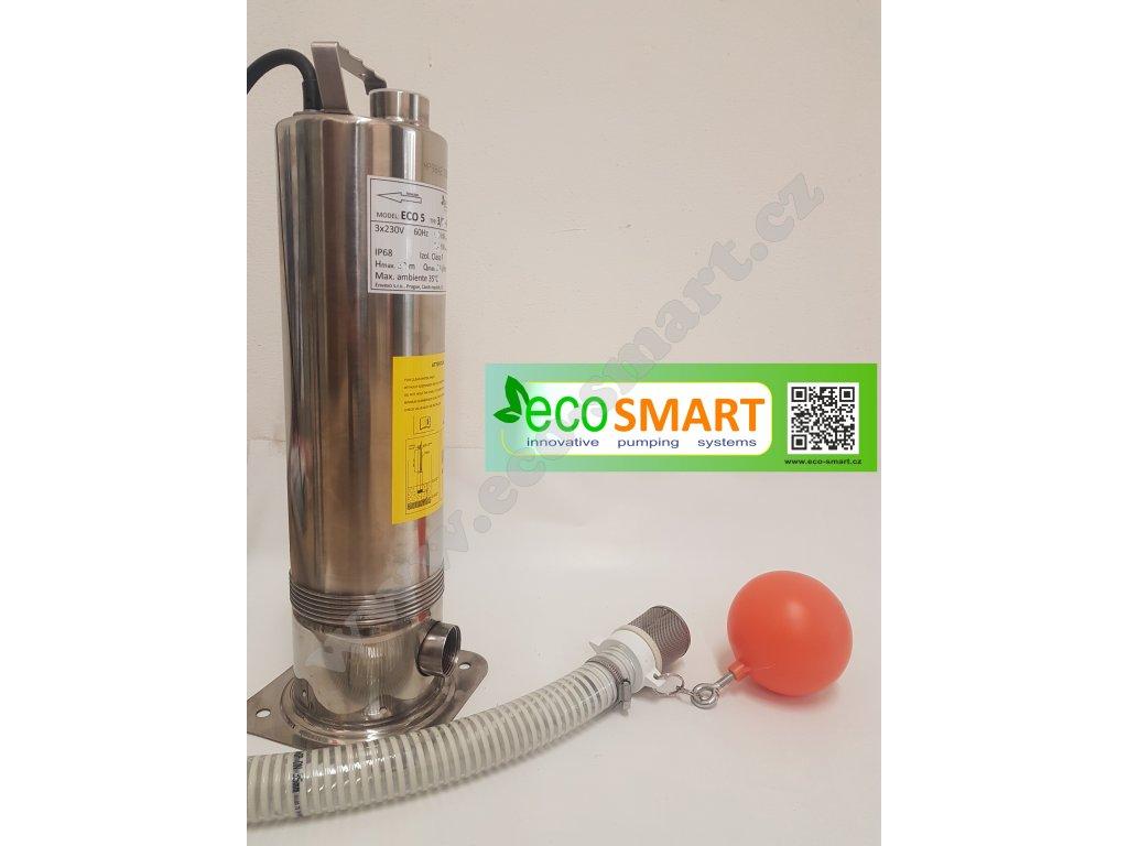 ponorné čerpadlo ECO 5 varianta pro dešťové nádrže