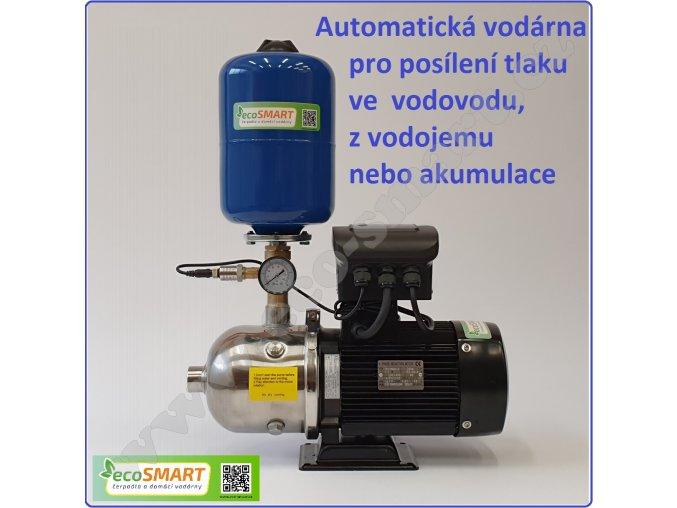 ECOPRESS 2-60 - automatická tlaková stanice pro zvýšení tlaku na 3,5 - 4 bar