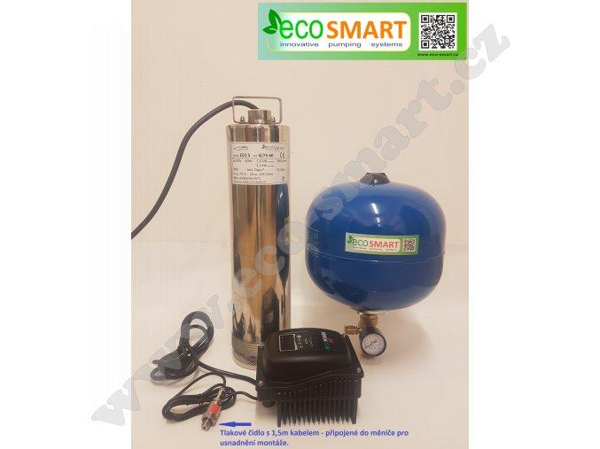 EcoSmart  4/55 pro závlahy a velké odběry 60-90 litrů/min