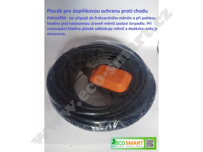 Plovák pro ochranu proti chodu nasucho