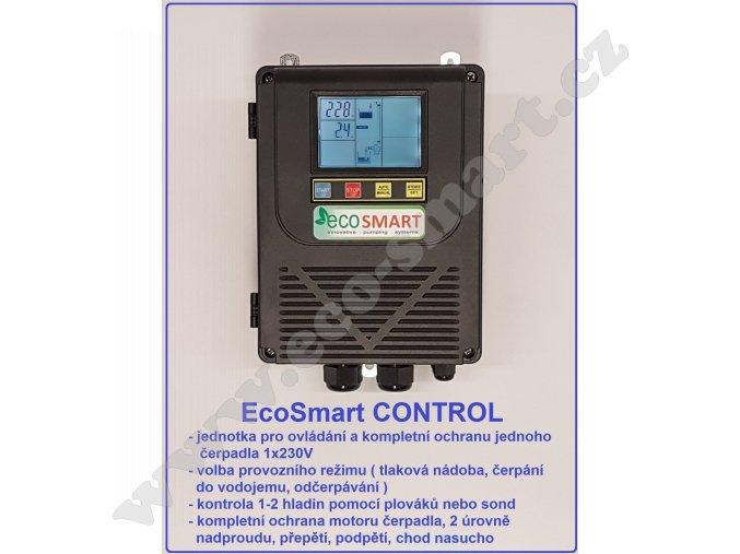 EcoSmart CONTROL 230V ochrana čerpadla proti běhu naprázdno