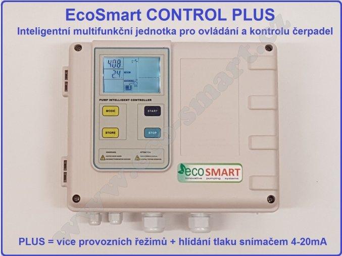 EcoSmart CONTROL hlídání hladiny, tlaku, proti chodu nasucho