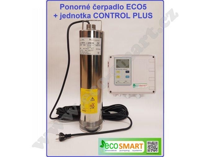 Sada čerpadla ECO5 a kontrolní a ovládací jednotky CONTROL PLUS