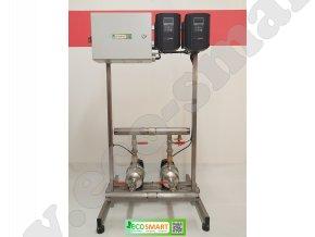 automatická tlaková stanice EcoSmart s horizontálními čerpadly