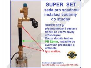 ECOSMART 3/15S - domácí vodárna pro studny 10-15 metrů