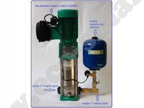 Automatická tlaková stanice EcoSmart MOVI 18 7