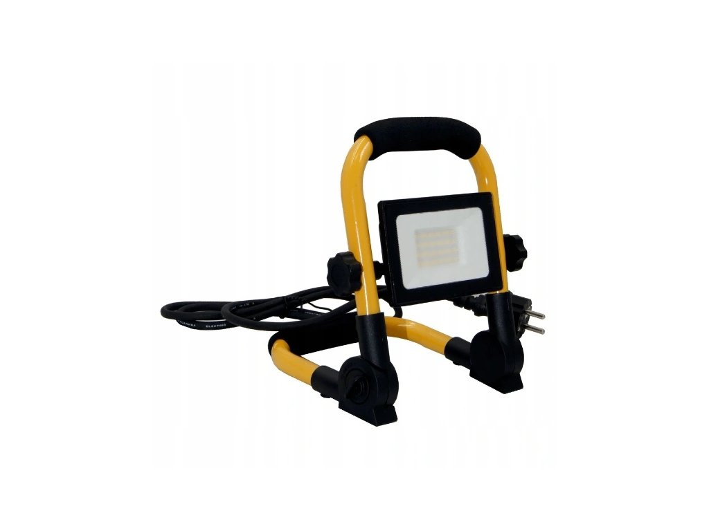Naswietlacz halogen LED 30W z przewodem statyw Dlugosc 21 cm