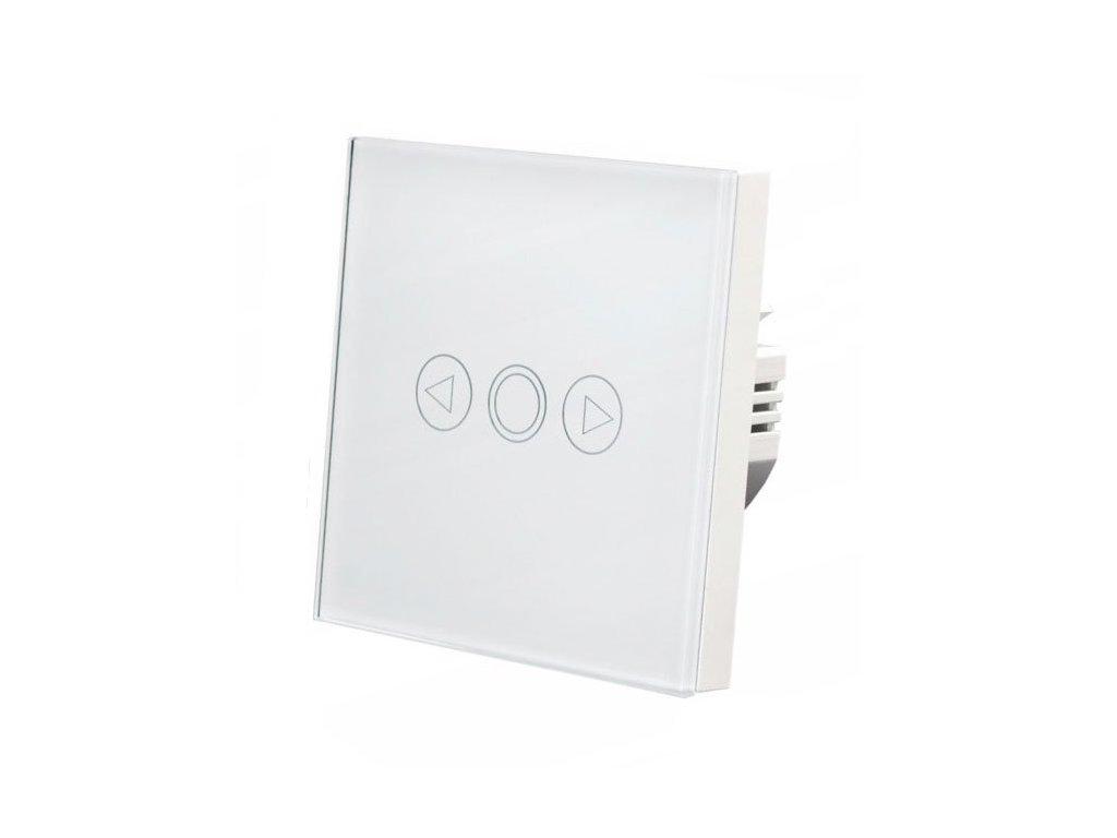 Wlacznik scienny dotyk LED szklany pojedynczy WIFI