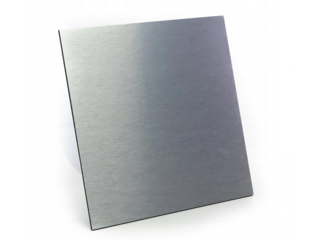 Dekorativní panel pro ventilátor dRim - kartáčovaný hliník