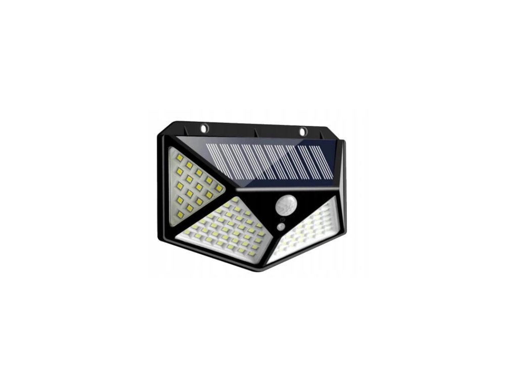 Lampa solarna LED 70 30 SMD z czujnikiem