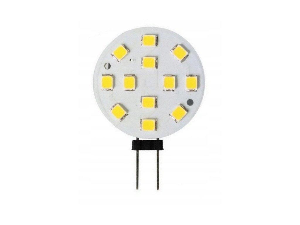 Zarowka LED G4 3W SMD b zimny 270lm TALERZYK