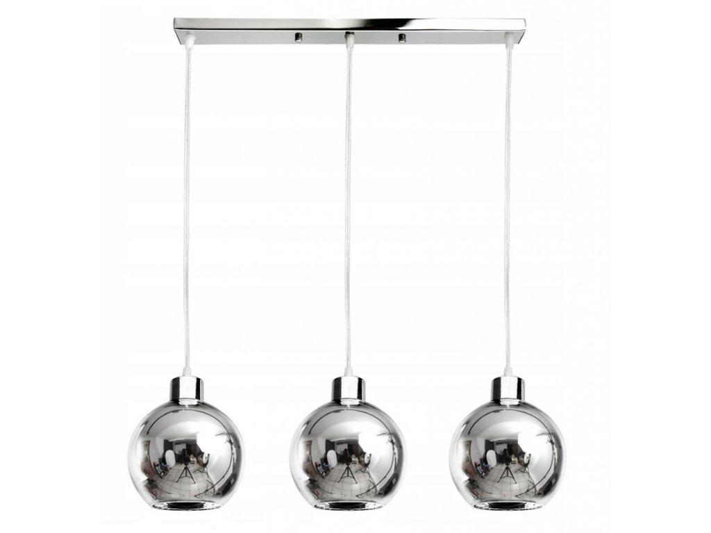 Lampa sufitowa wiszaca zyrandol LED 3x E27 kule