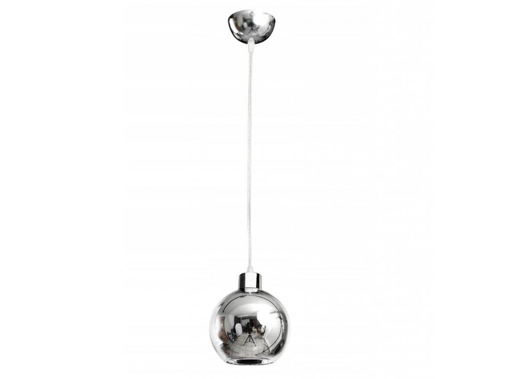 Lampa sufitowa wiszaca zyrandol LED 1x E27 kula
