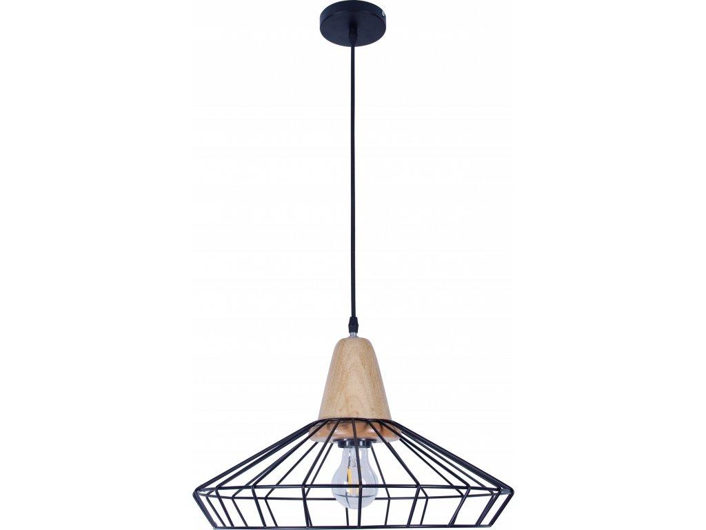 Lampa sufitowa wiszaca LED E27 SCANDI B7062