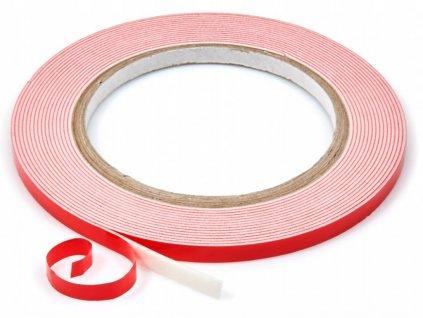 Oboustranná lepící páska na LED profil 6mm 5m role