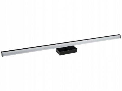 Kinkiet LED lazienkowy lampa czarny 70cm B7073 15W