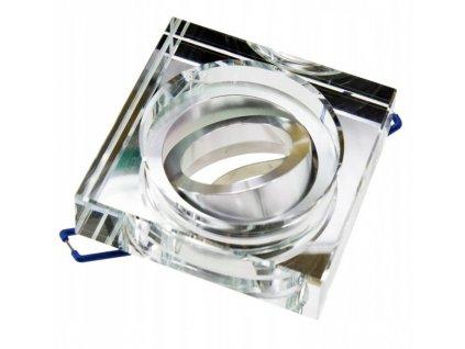 Oprawa halogenowa gruba 2cm ruchoma lustrzana